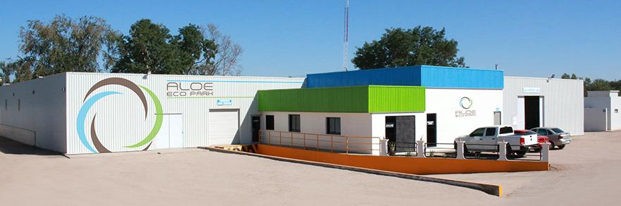 Aloe Eco Park Industrial Plant - Planta de Procesamiento Industrial de Aloe Eco Park